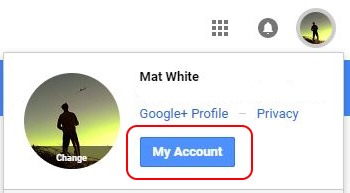 Google account link